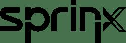 sprinx logo black